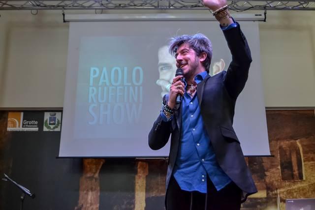 Paolo Ruffini al Grotte Center di Ancona
